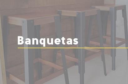 Banquetas Exclusivas - Móveis Gruber