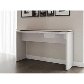Aparador Para Sala Lincoln Natural e Off white- Linha Stilo