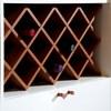 Armário com Adega de Vinho Retrô Axel Branco Linha Nord