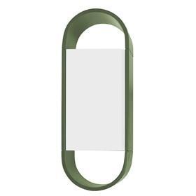 Armário Tyrone Duas Cores C/1 Porta - Verde Musgo/Branco