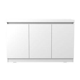 Buffet 3 Portas Truzzi Branco - Linha Stilo
