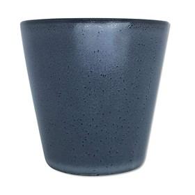 Cachepot Bagas em Cerâmica 7cm - Cinza