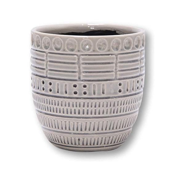Cachepot Lara em Cerâmica - 14cm