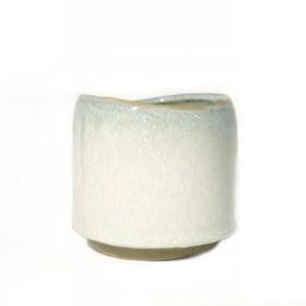 Cachepot Niawi em Cerâmica - Cinza