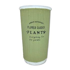Cachepot Potter em Terracota 23cm - Verde