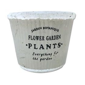 Cachepot Potter em Terracota 9cm - Cinza