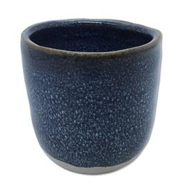 Cachepot Verob em Cerâmica 7,5cm - Azul Claro