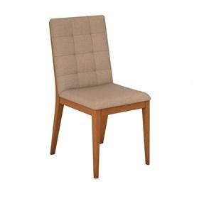 Cadeira Alabama Estofada em Madeira Maciça