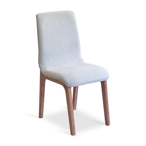 Cadeira Alnitak em Madeira Maciça - Champagne