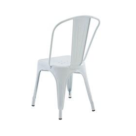Cadeira Apolo em Aço Carbono - Branco