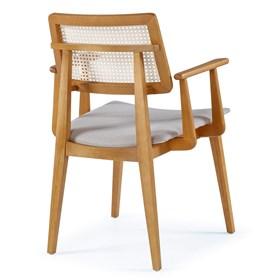 Cadeira Atacama C/Braço em Madeira Maciça