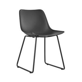 Cadeira Baker em Polipropileno - Preto