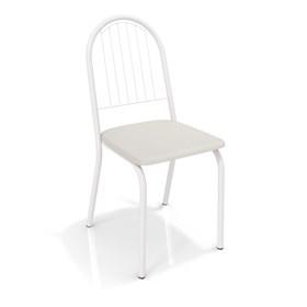Cadeira Banner em Metal Branco - Branco