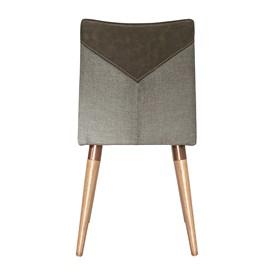 Cadeira Becca Cinamomo C/Pés de Madeira Maciça Linked 35