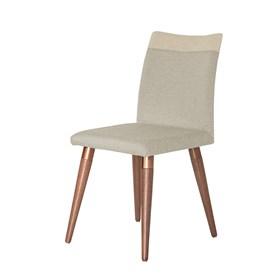 Cadeira Becca Natural C/Pés de Madeira Maciça Linked 02