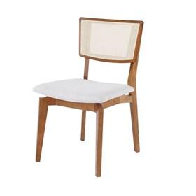 Cadeira Belmore em Madeira Maciça C/ Palha