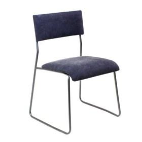 Cadeira Bertoia em Aço Carbono - Azul Forte