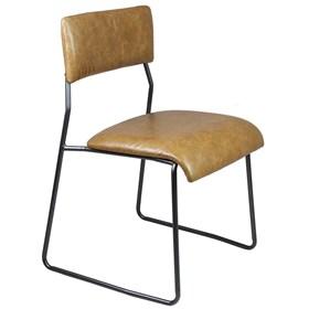 Cadeira Bertoia em Aço Carbono - Caramelo