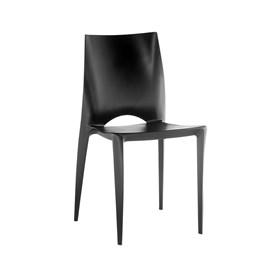 Cadeira Braut em Polipropileno - Preto