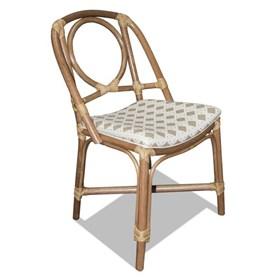 Cadeira Bréscia Natural em Madeira Apuí C/Fibra Junco