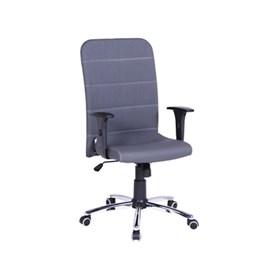 Cadeira Burley Presidente Giratória Cromada