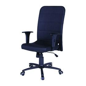 Cadeira Burley Presidente Giratória Preto