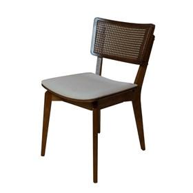 Cadeira Caiena em Madeira Maciça - Café