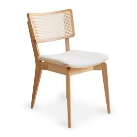 Cadeira Caiena em Madeira Maciça - Natural