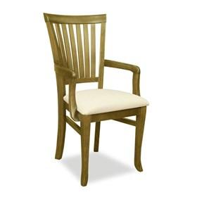 Cadeira Canadá C/Braço em Madeira Maciça
