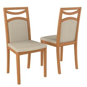Cadeira Carlsbad em Madeira Maciça