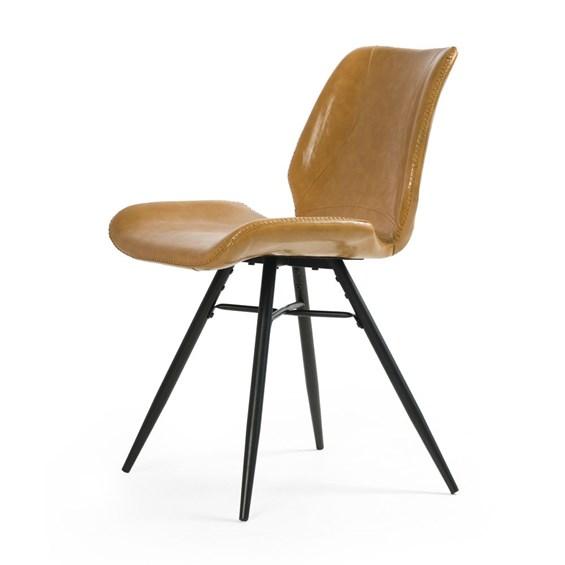 Cadeira Cavid Estrutura em Aço Design Moderno