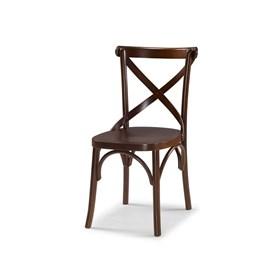 Cadeira Cenni em Madeira Maciça Cacau