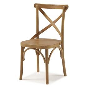Cadeira Cenni em Madeira Maciça - Carvalho