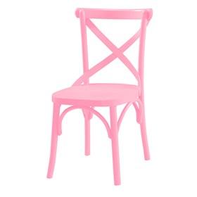 Cadeira Cenni em Madeira Maciça - Rosa Pétala