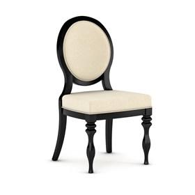 Cadeira Clifford em Madeira Maciça - Preto