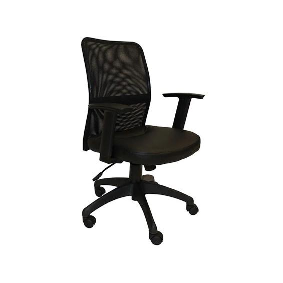 Cadeira Cochem com Assento em Couro Ecológico
