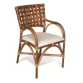 Cadeira Columbus C/Braço em Madeira Apuí