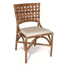 Cadeira Columbus S/Braço em Madeira Apuí