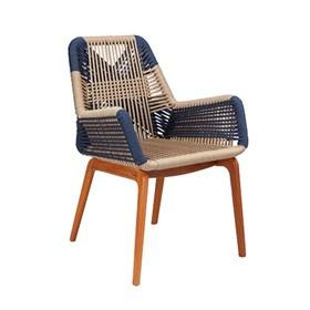 Cadeira Cooper em Madeira e Corda Naútica