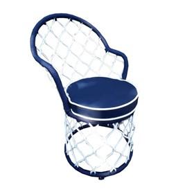 Cadeira Crandall em Corda Náutica