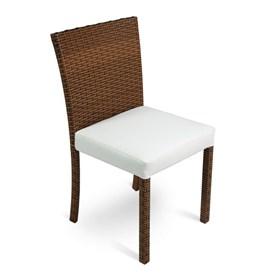 Cadeira Crotone C/Estrutura em Alumínio Revestida de Fibra Sintética