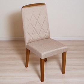 Cadeira Daisy em Madeira Maciça - Natural/Linked 75