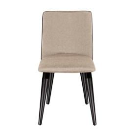 Cadeira Dakota C/ Base Fixa Preto - Moka