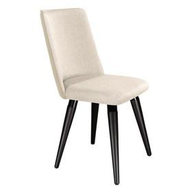 Cadeira Dakota C/ Base Fixa Preto - Off-white