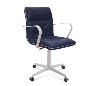 Cadeira de Escritório Coruscant Secretária em Linho - Azul