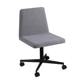 Cadeira de Escritório Woody em Estofado - Cimento