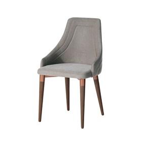 Cadeira de Jantar Evelyn Bronze C/Encosto Anatômico Alpha 80