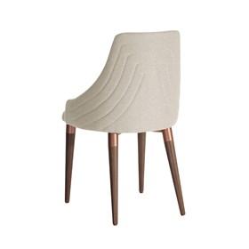 Cadeira de Jantar Evelyn Bronze C/Encosto Anatômico Linked 02