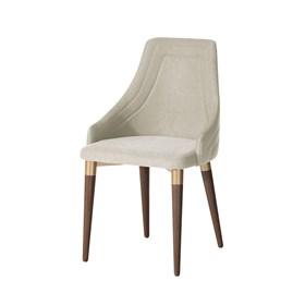 Cadeira de Jantar Evelyn Dourado C/Encosto Anatômico Linked 02