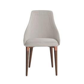Cadeira de Jantar Evelyn TA Bronze em Veludo Inca 02